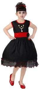 FTC Bazar Girl's Midi/Knee Length Party Dress