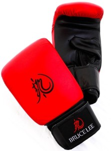 Bruce Lee Dragon Bag Boxing Gloves (XL, Multicolor)