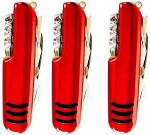 Jeeya Classic Appeal Silk Gary -purpose 11 Function Multi Utility Swiss Knife