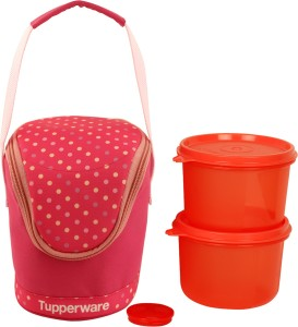 Tupperware 3lunchboxs 3 Containers Lunch Box