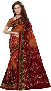 Ishin Printed Bollywood Art Silk Saree