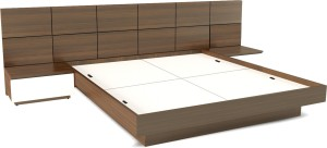 UNiCOS Horizon Engineered Wood King Bed With Storage