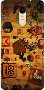 iprinto Back Cover for Mi Redmi Note 4