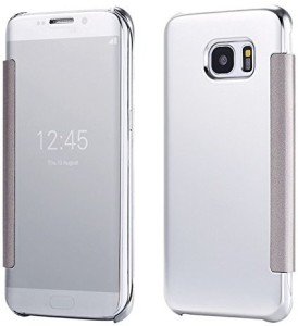 TGK Flip Cover for SAMSUNG Galaxy S7 Edge Silver Best Price in India ... bd01804335ee