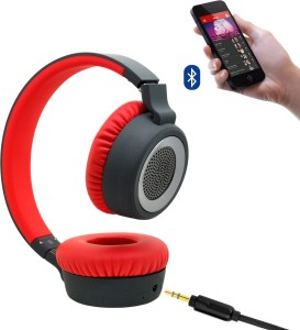 a579be891f8 boat Rockerz 430 bluetooth Headphones Red On the Ear Best Price in ...