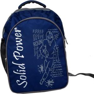 6f0d5a82b42 Kuber Industries School Bag Backpack Waterproof School Bag Blue 30 L ...