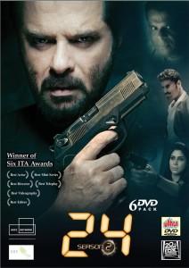 24 Indian TV series season 2DVD Hindi