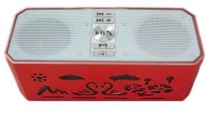 Edfigo Color Changing Light Dual Speaker HD Sound & Bass Portable Bluetooth Mobile/Tablet Speaker