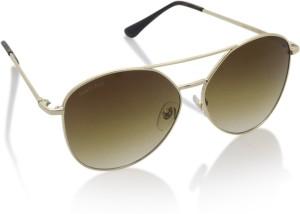6c136fd3b8969 Fastrack M166BR1F Aviator Sunglasses Brown Best Price in India ...