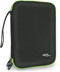 Gizga Essentials Gadget Organizer Case, Portable Zippered Pouch For All Small Gadgets, HDD, Power Bank, USB Cables, Pen Drives, Memory Cards