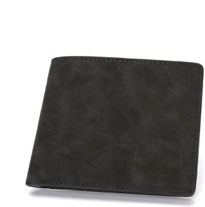 Bogesi Men Black Genuine Leather Wallet