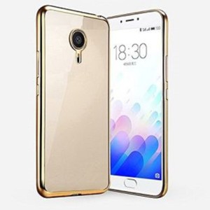 new products 06d52 34669 i-Copertina Back Cover for Gionee A1Transparent Gold