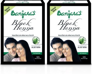 82a04911e Banjara s Black Henna with Aloevera Hair Color Black Best Price in ...