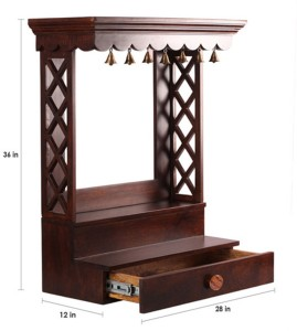 Aarsun Woods WSHLF 04 Wooden Home Temple Height 91 44 cm Best Price ... 422b16126
