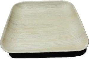 Ezee Ezee Eco Friendly Areca Leaf Square Plate 10