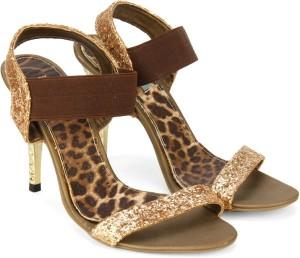 7f6deac7d Catwalk Women BRONZE Heels Best Price in India