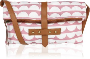 276832443f4 Kleio Women Pink Canvas Sling Bag Best Price in India