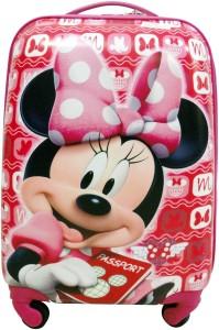 Cloud9JP Cloud9JP 16inch Minnie Mouse Trolly Bag Small Travel Bag