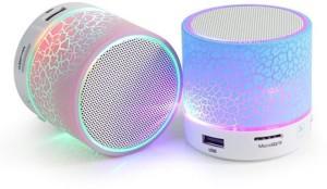 Ruhi Traders New LED Bluetooth speaker Portable Bluetooth Mobile/Tablet Speaker