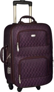 TREKKER TTB-PEARL204-PL Expandable  Cabin Luggage - 20 inch