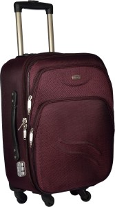 TREKKER TTB-PANDA24-PL Expandable  Check-in Luggage - 24 inch