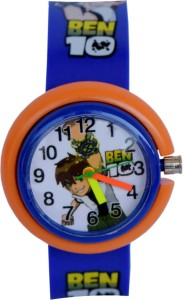 Creator Ben-10 New Design Blue(Random Colours Available)Gift Analog Watch  - For Boys & Girls
