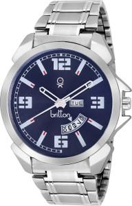 Britton BR-GR181-BLU-CH Analog Watch  - For Men