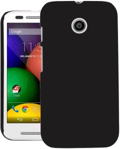 the best attitude 4ee62 3e23d Cubix Back Cover for Motorola Moto E XT1022Black