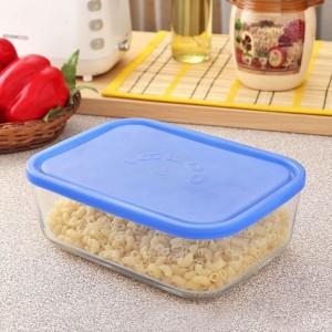 Borgonovo Food Container  - 800 ml Plastic, Glass Food Storage