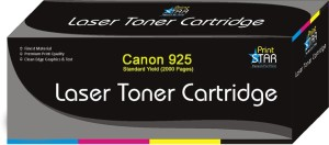 Printstar Cartridge 925 Black Toner Cartridge Pack of 1 Compatible for Canon Laser Shot LBP6018B, Canon imageCLASS MF3010 Single Color Toner