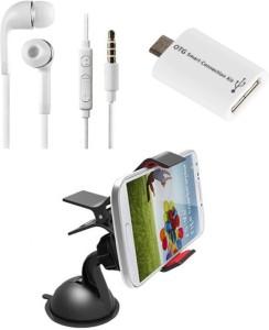 ZEBRON Headphone Accessory Combo for Xiaomi Redmi Note 4G