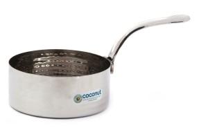 Coconut Hammered Tadka Saucepan Pot 0.2 L