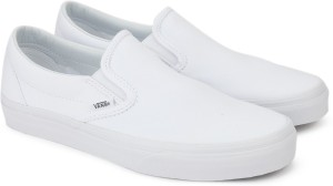 939bbca5b9bc VANS CLASSIC SLIP ON Loafers White Best Price in India