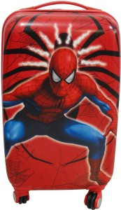 Cloud9JP 1441 Spiderman 20inch Kids Trolly Bag. Cabin Luggage - 20 inch