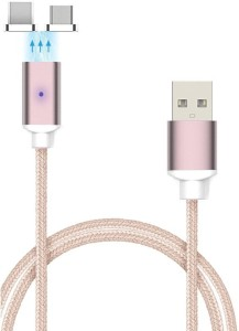 VibeX ® 2.4A High Speed Lightning Android and Apple Product Magnetic Charging Cable