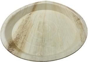 Ezee Ezee Eco Friendly Areca Leaf Round Plate 12
