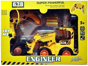 Hunger Toys Engineer 5 Channel Simulation Remote Control High