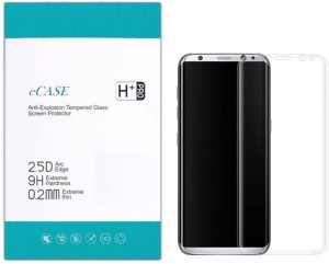 eCase Tempered Glass Guard for Samsung Galaxy S8