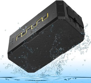 Jango F5 Waterproof Bluetooth Sound-Rock With 2600 mAh Power Bank (Supports Bluetooth,Aux,TF Card) Portable Bluetooth Mobile/Tablet Speaker