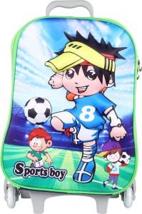 Originals Studious 3D Sports Boy - 3704 Cabin Luggage - 17 inch