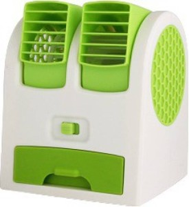 Sharp MT11 Mini Air Conditioner Cooling Fragrance 4 Blade Table Fan USB Fan