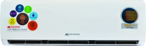 Micromax 1.2 Ton 3 Star Split AC  - White