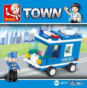 Sluban Police Car
