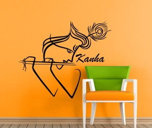 19cfa989e05 rng Large krishna wall stickers Sticker Pack of 1 Best Price in ...