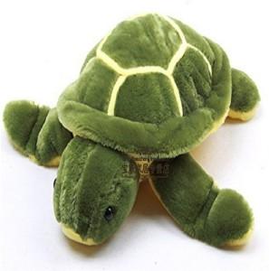 KAYKON Green Turtle Soft Stuffed Toy Premium Quality Fabric  - 35 cm