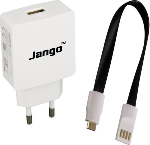 Jango 1Amp With JNC Shorty 2Amp Fast Charge&Sync Cable(0.2m) Mobile Charger