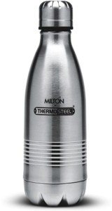 b43d7464731 MILTON THERMOS DUO FLASK BOTTLE 350 ml Flask Pack of 1 Silver Best ...