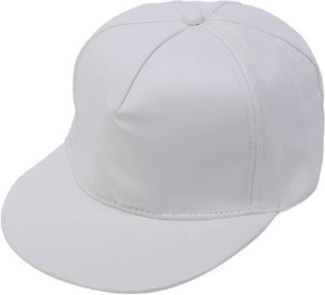b0900ca6edd Saifpro White Leather HipHop Cap Best Price in India