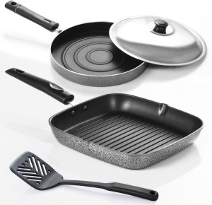 Sumeet Nonstick Funky -4 Cookware Set