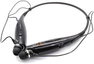 Anti Tank HBS730 Headset with Mic Black, In the Ear